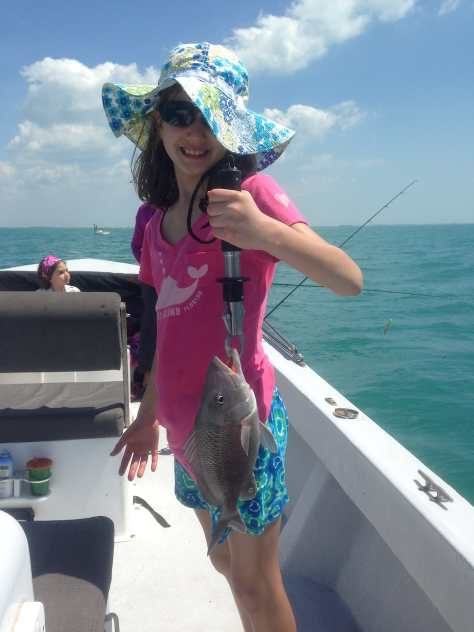 French Snapper, 3-23-14, Sanibel & Captiva Islands & Fort Myers Charters & Fishing Guide Service.