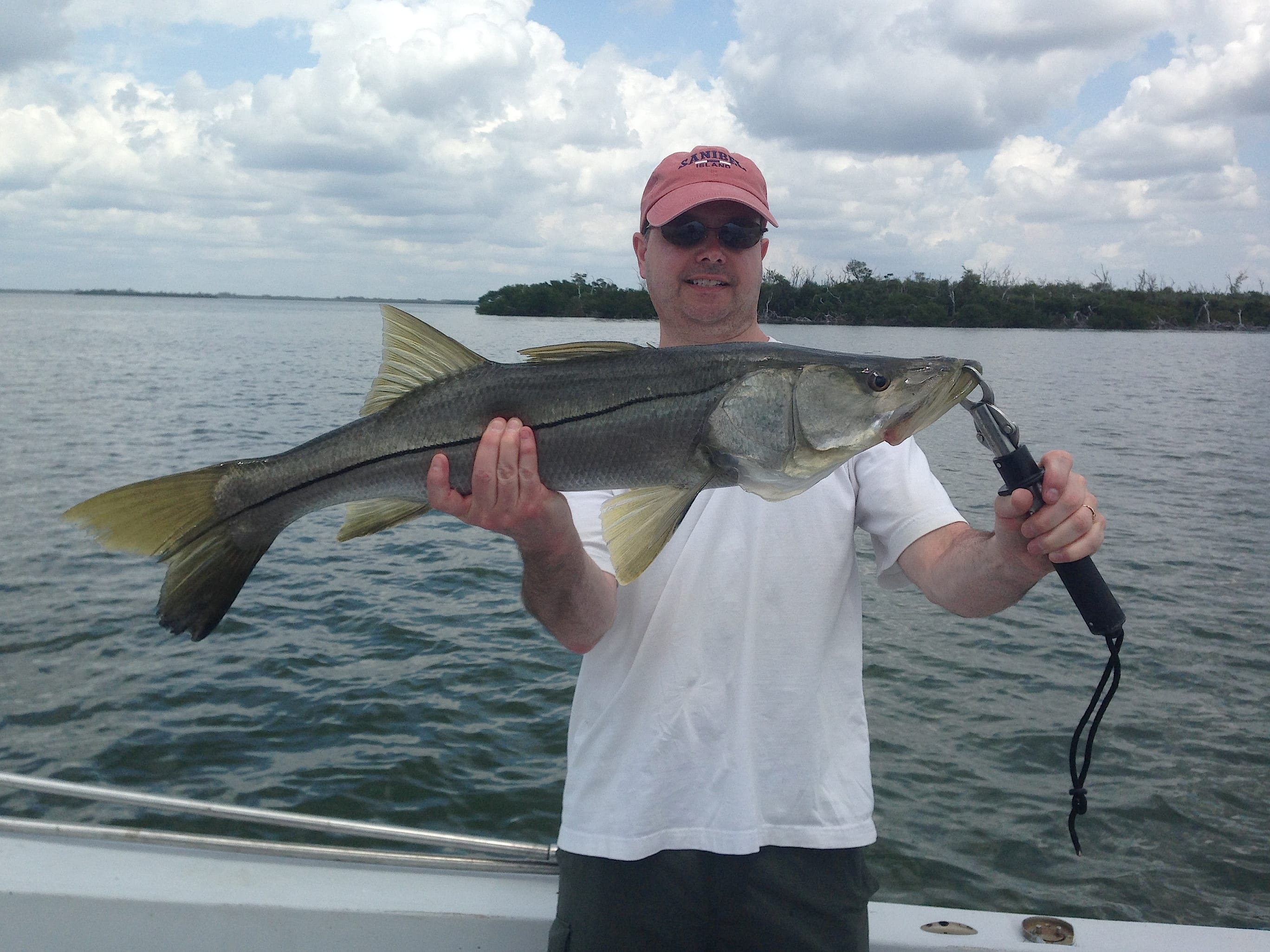 Thursday 4 17 14 captiva fishing report snook sanibel for Sanibel island fishing charters