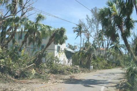 Hurricane Irma. Hurricane Charley 10 Year Anniversary, 8-13-04, Captiva Drive, Captiva Island. File Photo.