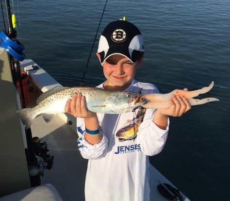 Captiva Fishing, Sea Trout, 4-18-15, Sanibel Fishing & Captiva Fishing & Fort Myers Fishing Charters & Guide Service.