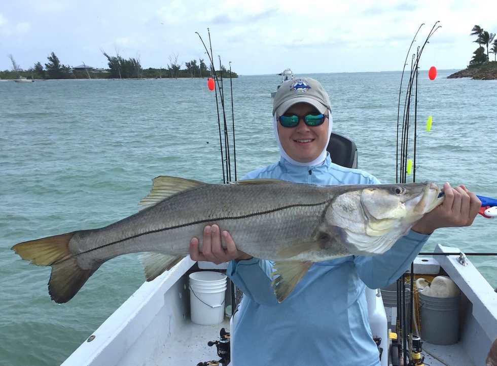 Captiva Fishing, Fingers O'Bannon Invitational Memorial, Ben, Nice Snook, 4-25-15, Sanibel Fishing & Captiva Fishing & Fort Myers Fishing Charters & Guide Service.