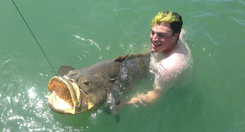 Goliath Grouper, Sanibel Fishing & Captiva Fishing, Saturday, 8-29-15 ~ #Sanibel #Captiva.