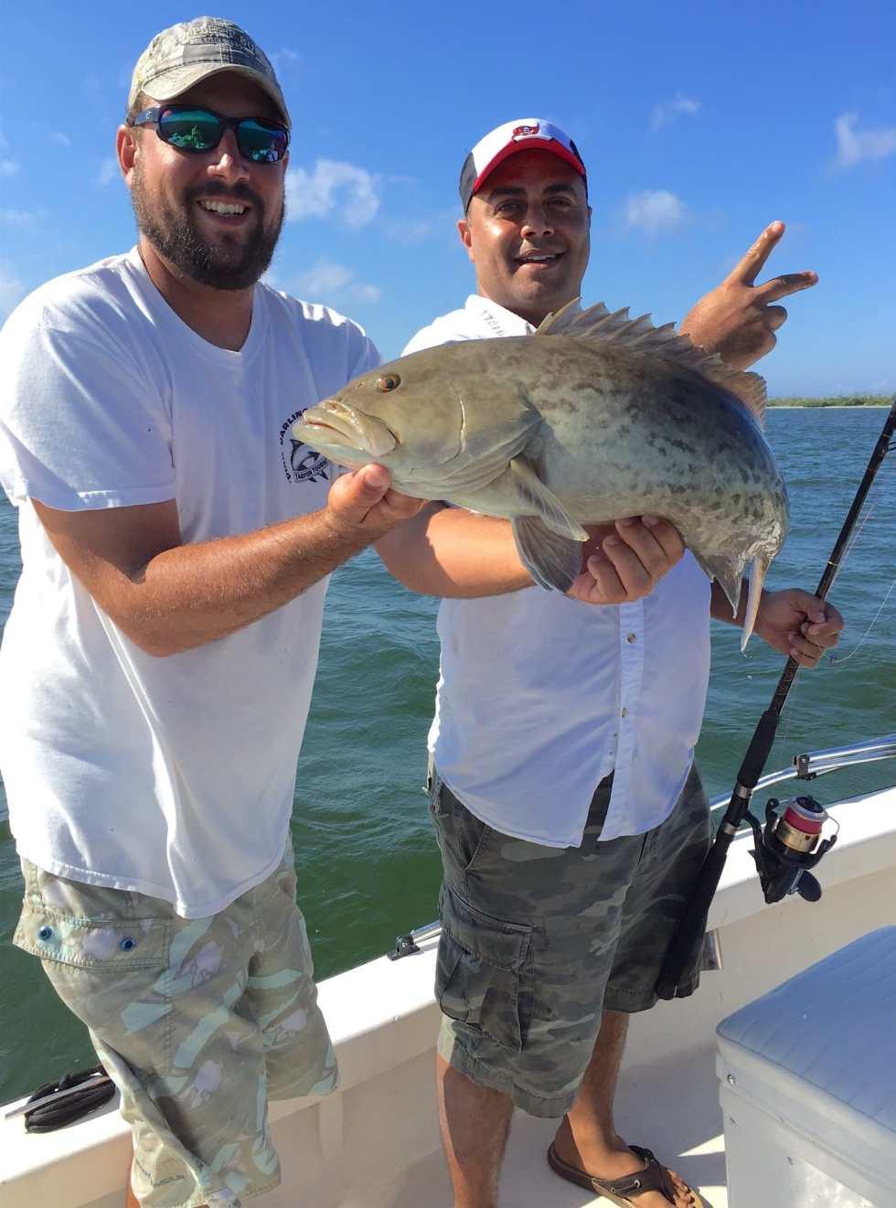 Josh, Grouper, Sanibel Fishing & Captiva Fishing, Monday, 11-2-15 ~ #Sanibel #Captiva.