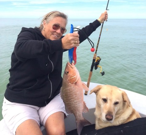 Snapper, Jean, Sanibel Fishing & Captiva Fishing, Saturday, 1-30-16 ~ #Sanibel #Captiva.