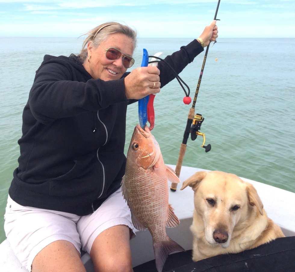 Snapper, Jean, Sanibel Fishing & Captiva Fishing, Saturday, 1-30-16 ~ #Sanibel #Captiva.