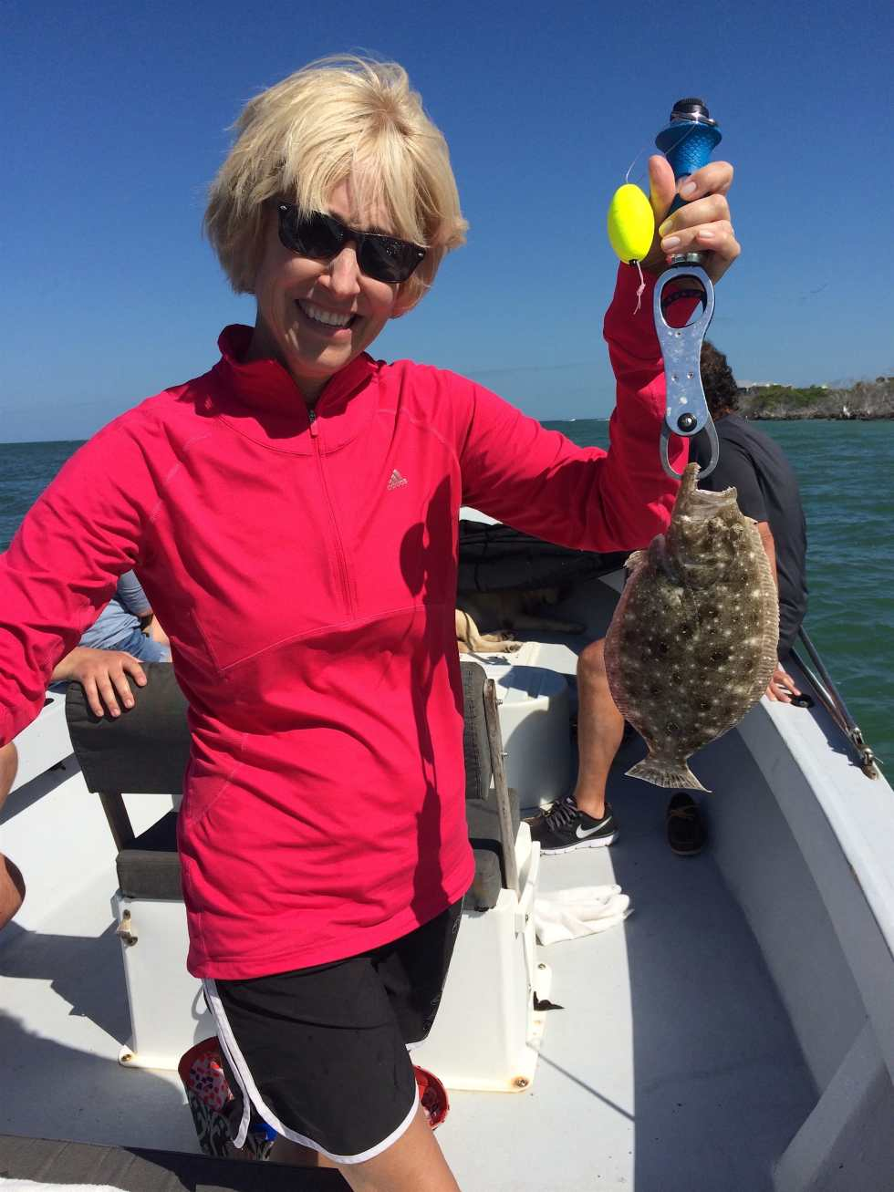 Flounder Fishing, Sanibel Fishing & Captiva Fishing, Wednesday, April 21, 2016.