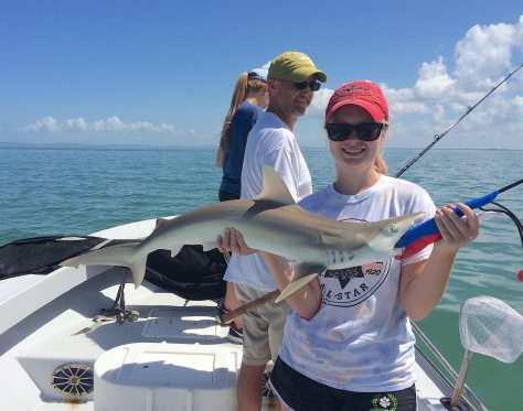 Sharks, Catch & Release, Sanibel Fishing & Captiva Fishing, Friday, June 24, 2016.
