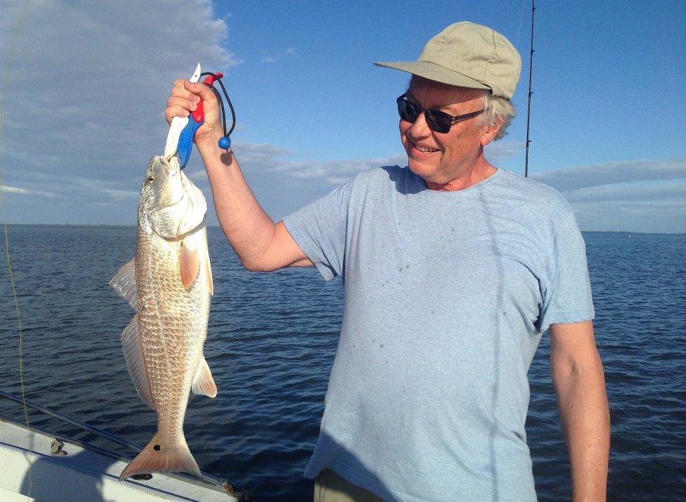 Redfish, Sanibel Fishing & Captiva Fishing, Sanibel Island, Thursday, March 2, 2017.