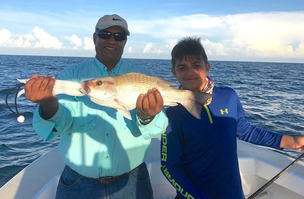 Snapper, Catch & Release, Sanibel Fishing & Captiva Fishing, Sanibel Island, Monday, July 17, 2017.