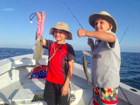 Snapper & Spotted SeaTrout, Catch & Release, Sanibel Fishing & Captiva Fishing, Sanibel Island, Thursday, August 3, 2017.