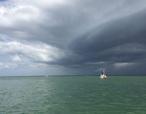 Even More Rain, Sanibel Fishing & Captiva Fishing, Sanibel Island, Sunday, August 27, 2017.
