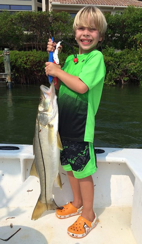 Snook, Blind Pass, Sanibel Fishing & Captiva Fishing, Sanibel Island, Thursday, October 12, 2017, [File Photo: Friday, September 22, 2017].