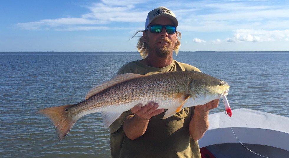 Redfish, Fish For All Guide Tournament, Catch & Release, Sanibel Fishing & Captiva Fishing, Sanibel Island, Monday, October 30, 2017.
