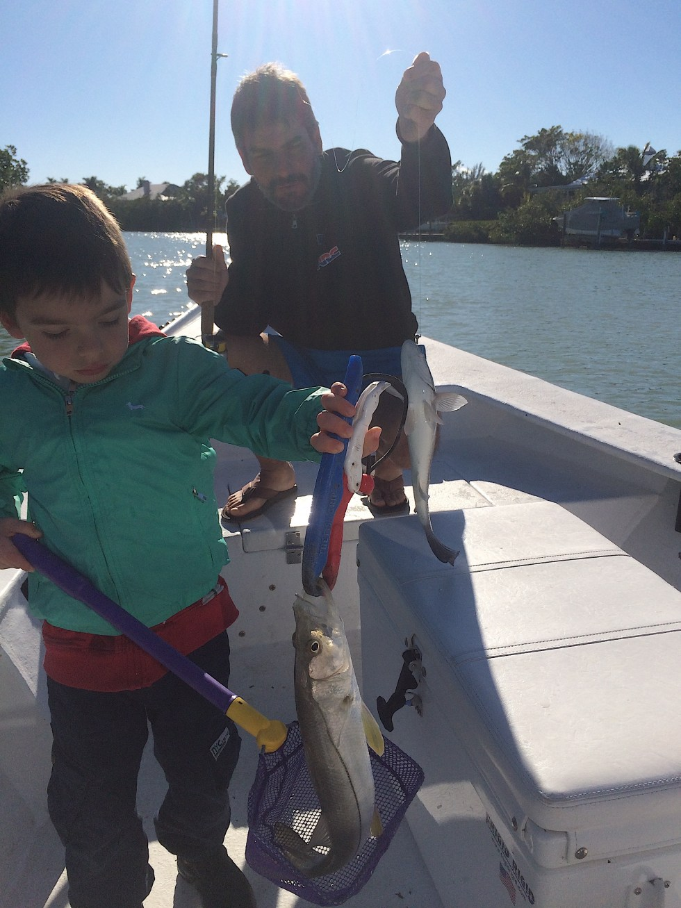 Snook, Blind Pass, Catch & Release, Sanibel Fishing & Captiva Fishing, Sanibel Island, Saturday, February 10, 2018.