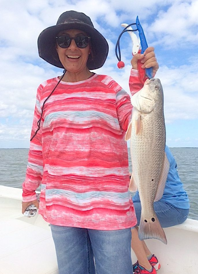 Redfish, Oyster Bars, Catch & Release, Sanibel Island Fishing Charters & Captiva Island Fishing Charters, Sanibel Island, Monday, March 6, 2018.