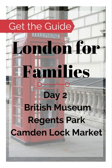 London things to do on a family travel budget. Buy the London City Guide for Families for free and cheap London things to do near Bloomsbury. Visit the British Museum, British Library and Camden Lock Market and more!