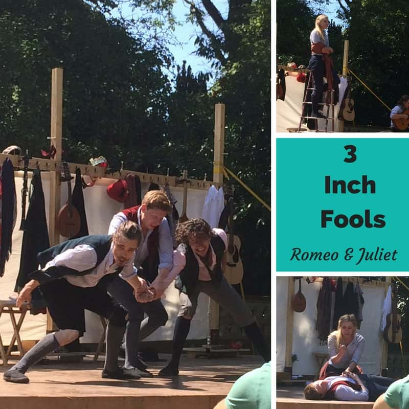 3 Inch Fools Romeo & Juliet. 7 Stratford-Upon-Avon Tips for Bard Approved Family Activities.