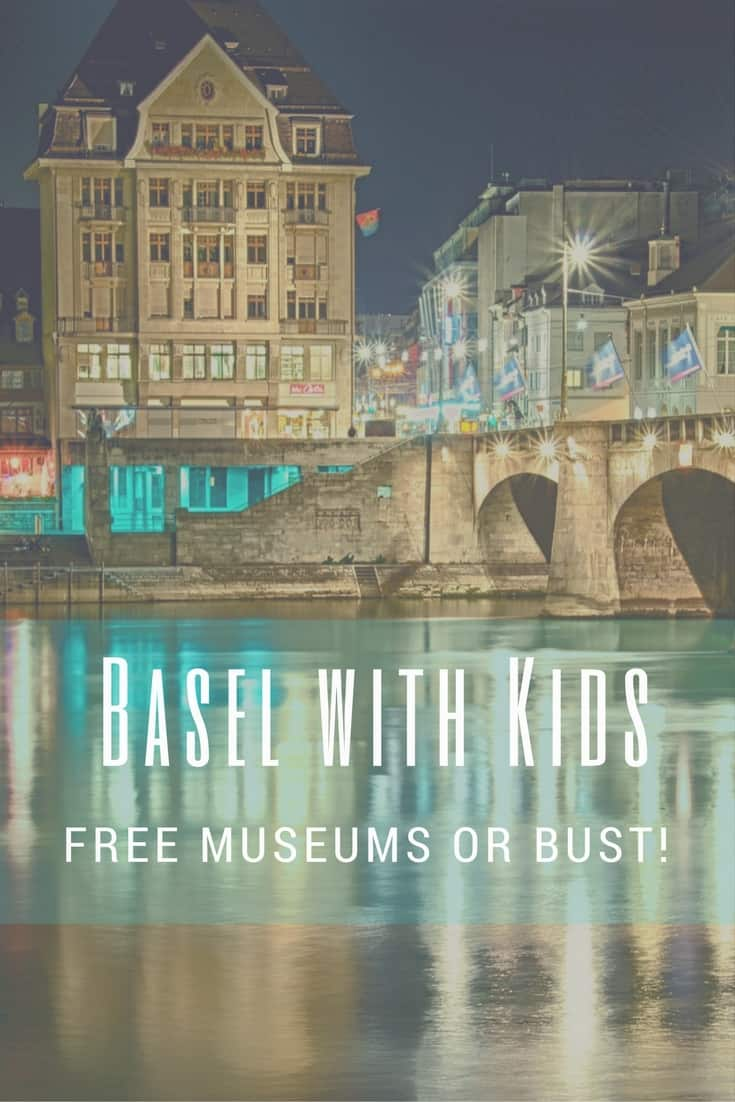 Basel with Kids: Free Museums or Bust! Switzerland has so many museums...like over 400!  Here's a list of the Basel Museums that your family might enjoy.