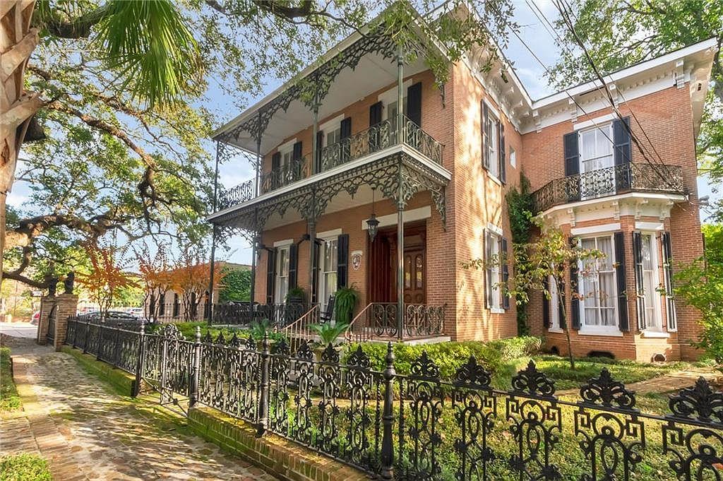 1873 Italianate For Sale In Mobile Alabama