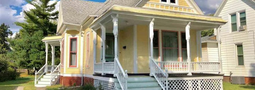 Illinois 1897 Enchanting Queen Anne Cottage. Queen Anne Archives   Captivating Houses