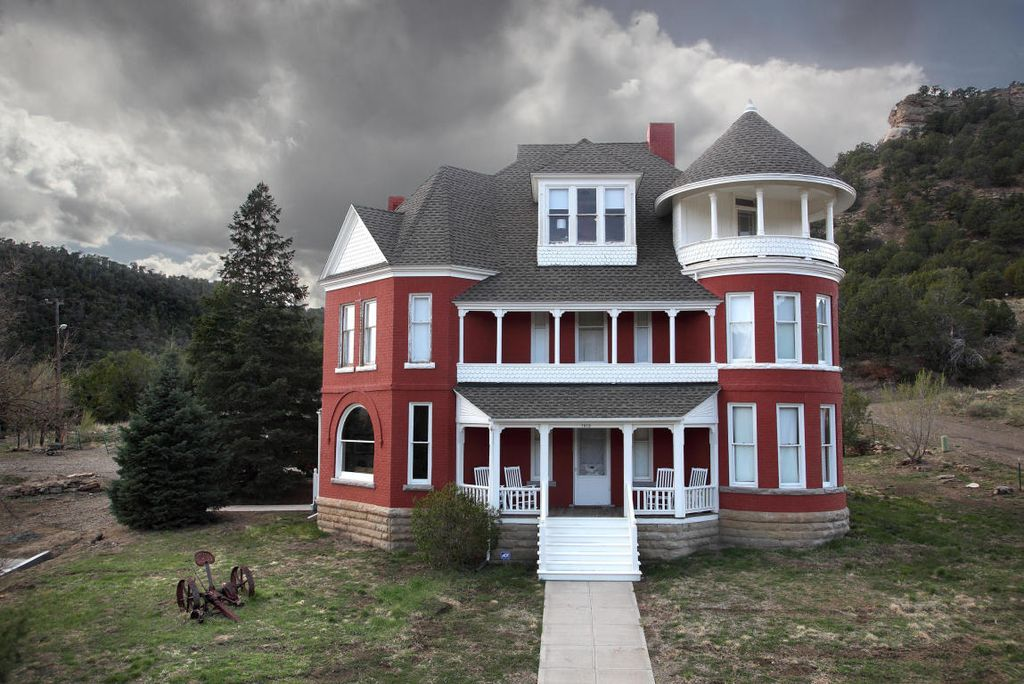 1892 Mccormick Mansion For Sale In Trinidad Colorado