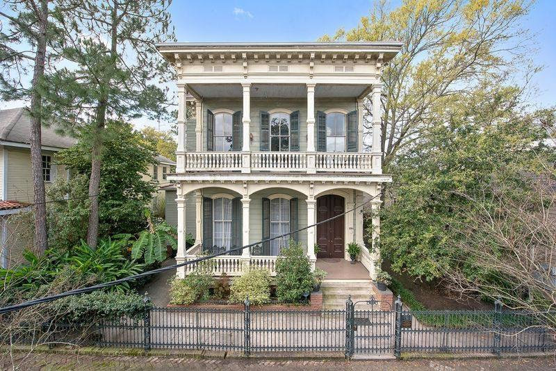 1884 Victorian In New Orleans Louisiana