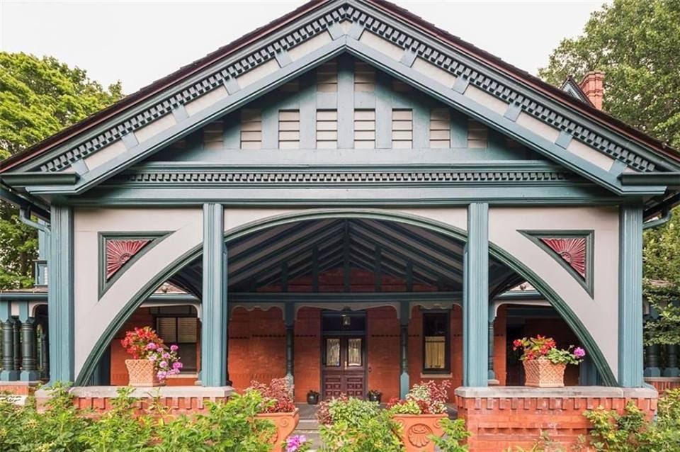 Rhode Island 1877 The Charles H Baldwin House