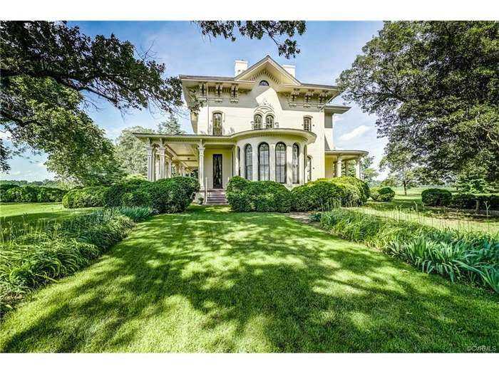 1857 Historic Italianate Camden Farm For Sale In Port Royal Virginia