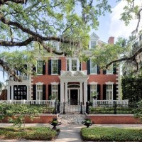 1907 Georgian Revival For Sale In Savannah Georgia