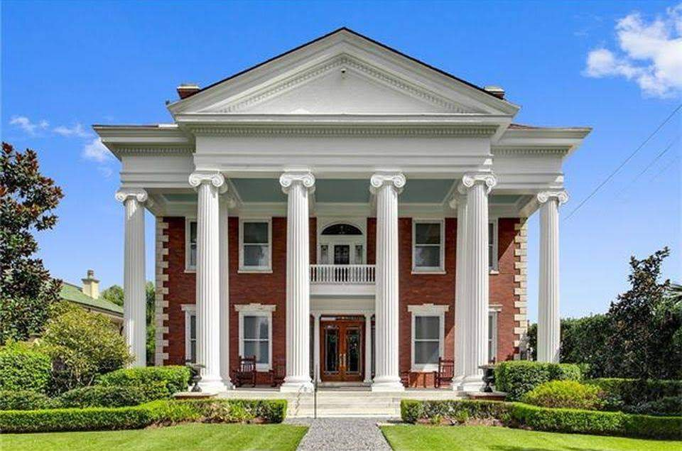 1903 Neoclassical In New Orleans Louisiana