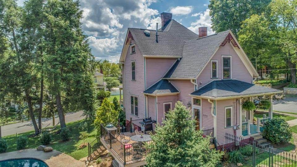 1898 Queen Anne Victorian For Sale In Knoxville Tennessee