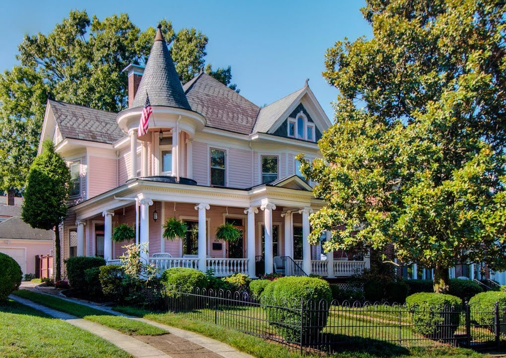1909 Queen Anne For Sale In Roanoke Virginia