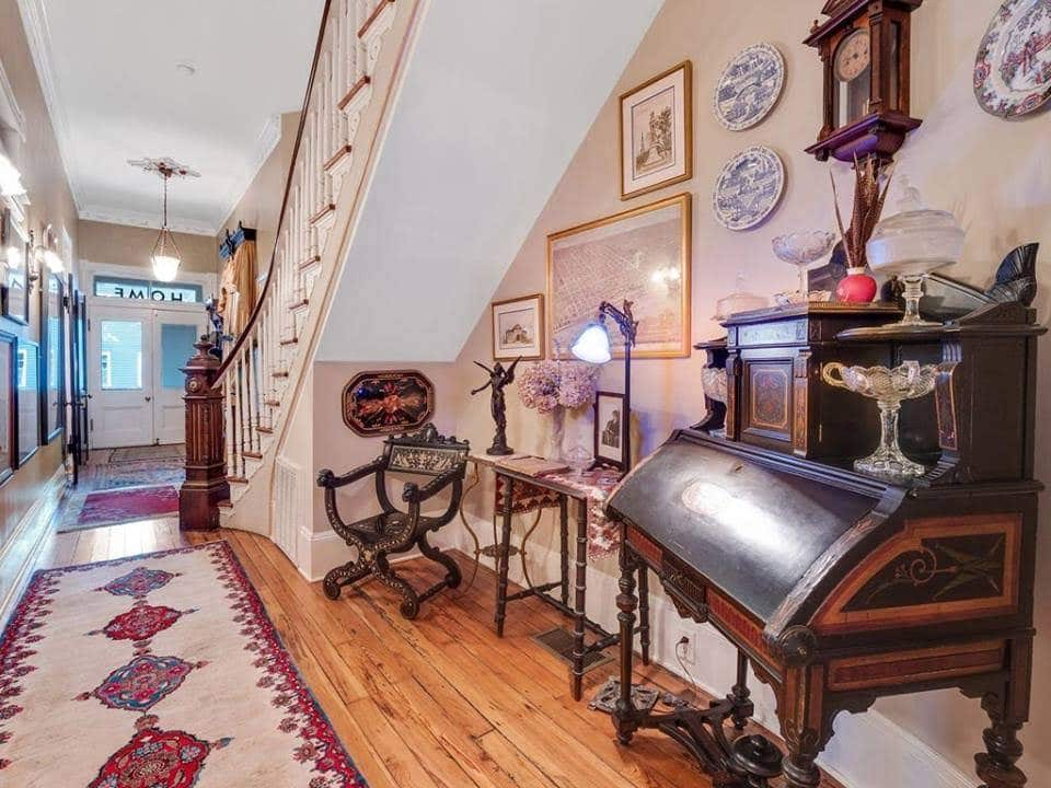 1890 Dickinson-Exley House For Sale In Savannah Georgia