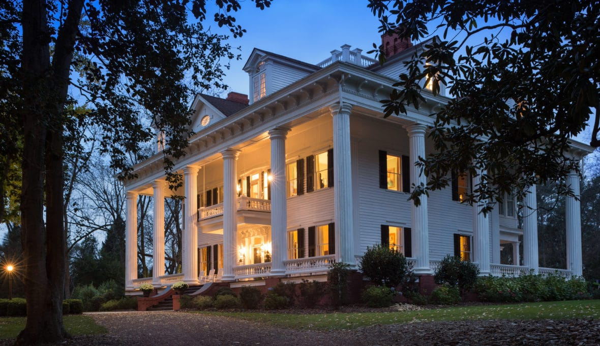"1836 Twelve Oaks Inspiration for ""Gone With The Wind"" In Covington Georgia"