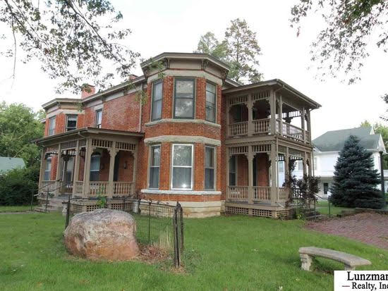 1890 Italianate For Sale In Auburn Nebraska
