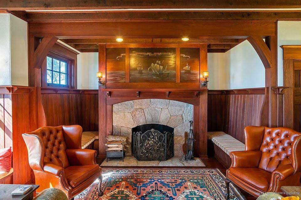 1905 Arts & Crafts For Sale In Southwest Harbor Maine