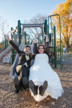 Wedding Bride LGBT Gay Fall slide