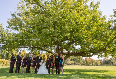 Wedding Bridal Party Tree