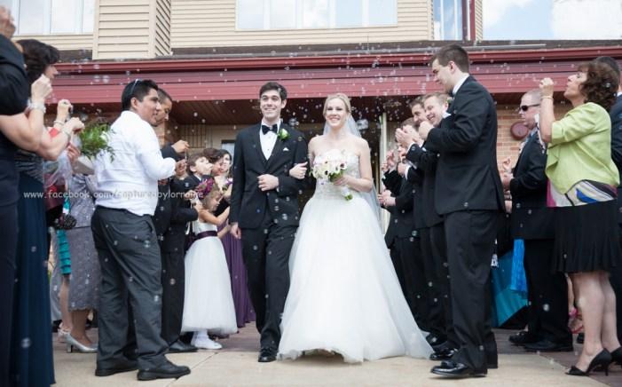 Wedding Bubble Exit