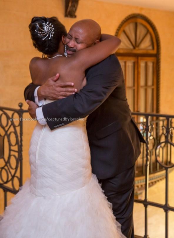 Bride and Dad Wedding