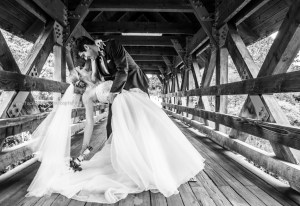 Wedding Bridge Naperville, Wedding photography St Charles Illinois