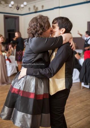 Bride Kissing Gay LGBT