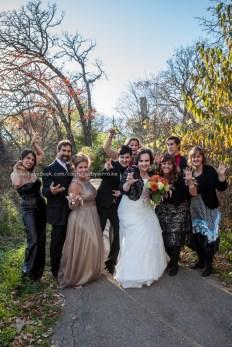 Wedding Bride LGBT Gay Family Park