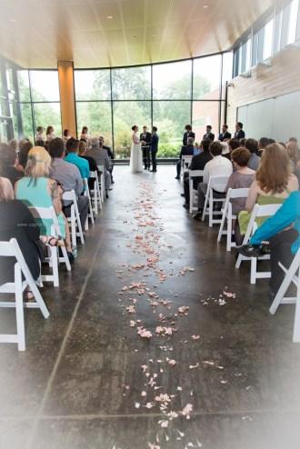 Morton Arboretum Wedding , Wedding Ceremony