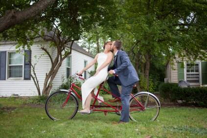 Bride Groom Bike