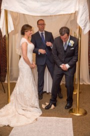 Groom Smashes glass wedding ceremony