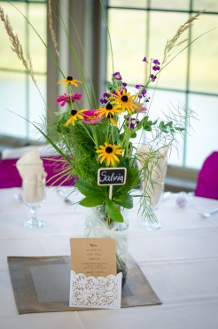 Wedding Flowers Table arrangement