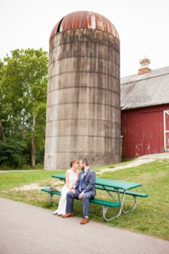 Bride groom portrait barn country, LeRoy Oakes St Charles