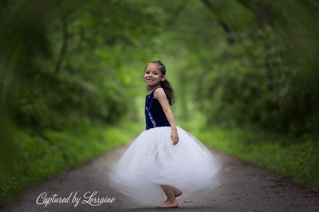 Fairy tale photo shoot Geneva Il