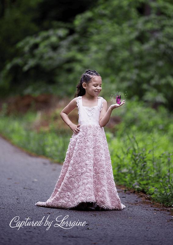 Whimsical Child photo shoot